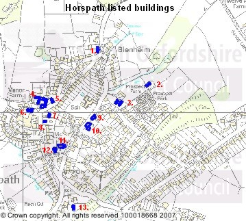 Horspath Listed Buildings